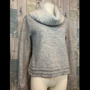 Anthropologie Sweaters - Sleeping on Snow Cowl Neck Sweater